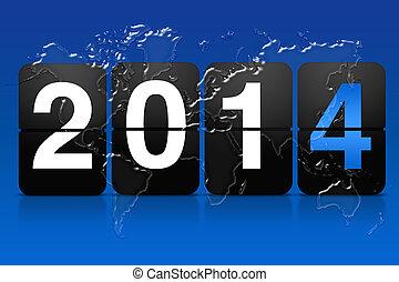 2014, planche, arrivées