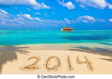 2014, playa, números