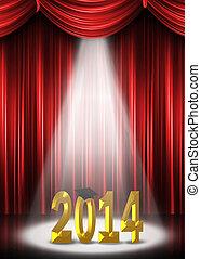 2014, riflettore, graduazione