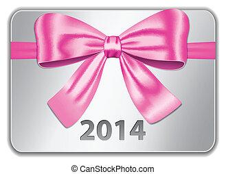 2014, scheda regalo