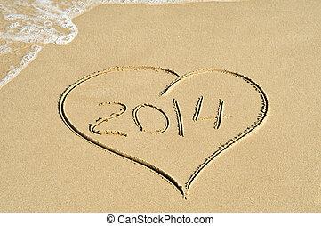 2014, stranden