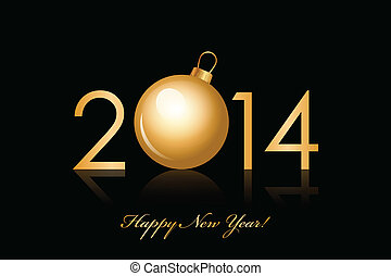 2014, szczęśliwy nowy rok, tło