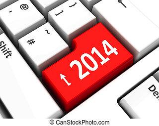 2014, teclado computador
