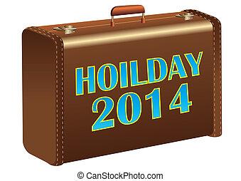 2014, vacanza