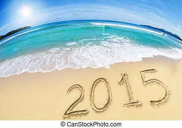 2015, άμμος ακρογιαλιά