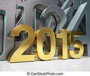 2015, χρυσαφένιος , έτος