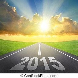 2015, 前方へ, 概念, 新年