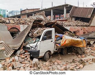 2015, 尼泊爾, 地震