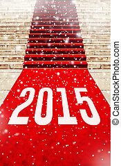 2015, 数, 赤いカーペット
