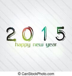 2015!, 新しい, 幸せ, 年