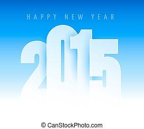 2015, 新年おめでとう