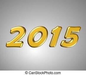 2015, 新年, カード
