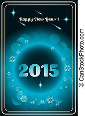 2015, 新, 愉快, 年