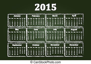 2015, 暦年