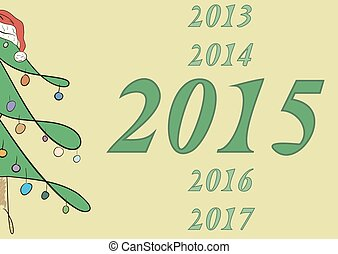 2015, 樅樹, 一半