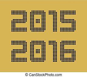 2015, 2016, año