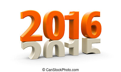 2015-2016 orange - 2015-2016 change represents the new year...