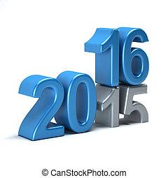 2015, 2016, venuta, sbiadimento, anno