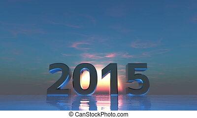 2015 and sunrise