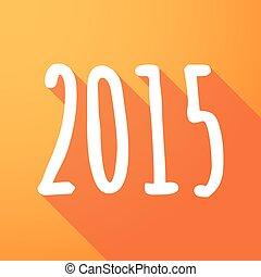 2015, année, ombre, long, conception