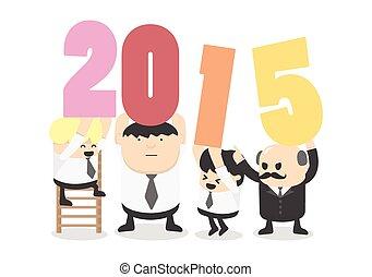 2015, bienvenida