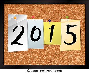 2015 Bulletin Board Theme Illustration