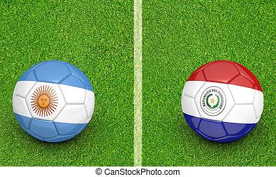 2015 Copa Argentina vs Paraguay