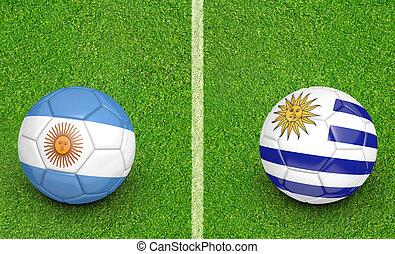 2015 Copa Argentina vs Uruguay