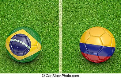 2015 Copa Brazil vs Colombia