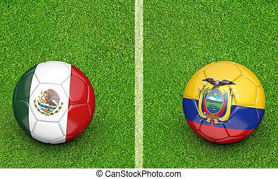 2015 Copa Mexico vs Ecuador