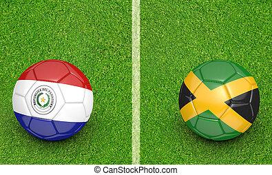 2015 Copa Paraguay vs Jamaica