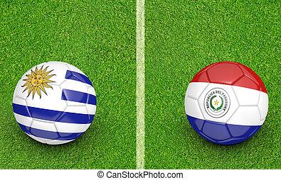 2015 Copa Uruguay vs Paraguay