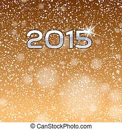 2015, guld, visa