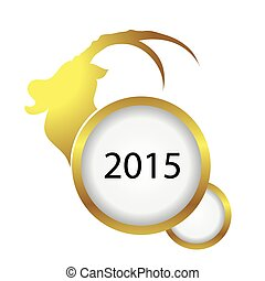 2015 happy new year of the sheep
