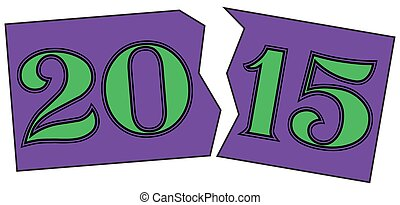 2015 in Purple and Green
