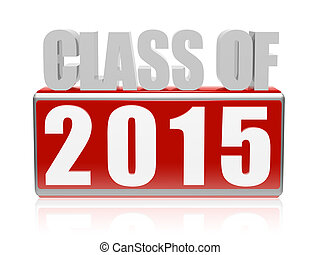 2015, lettres, classe, bloc, 3d