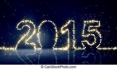 2015, lichter, gruß, loopable, weihnachten