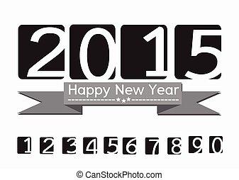 2015, neu , glücklich, jahr