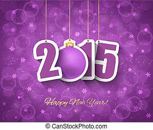 2015 new year background