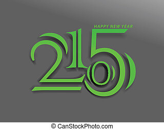 2015 new year Background vector ill