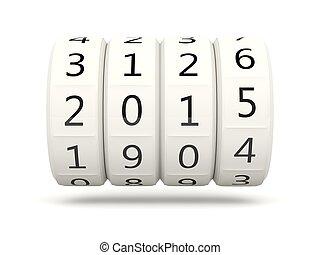 2015 New Year symbol