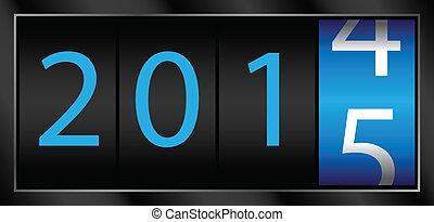 2015, nouvel an
