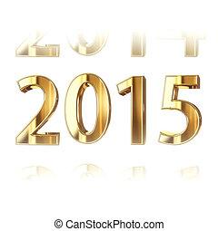 2015, nový rok