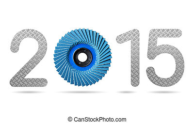 2015 numeric from abrasive flap disc and diamond metal plate