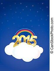 2015, nuvem