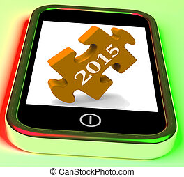 2015 On Smartphone Shows Future Plans For New Year