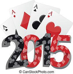2015, pôquer