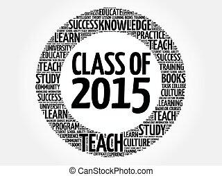 2015, parola, classe, nuvola