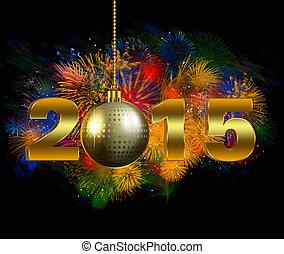 2015, partido de la víspera del año nuevo