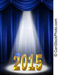 2015, proyector, graduación